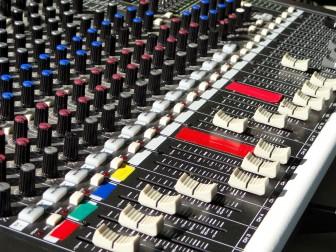 Equipamentos de som profissionais